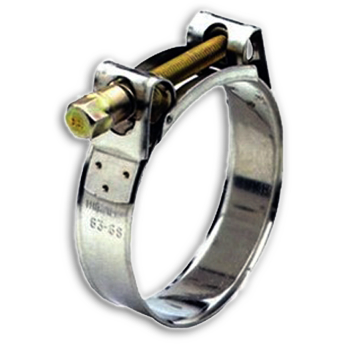 Stainless steel heavy duty quot hose clamp for discharge