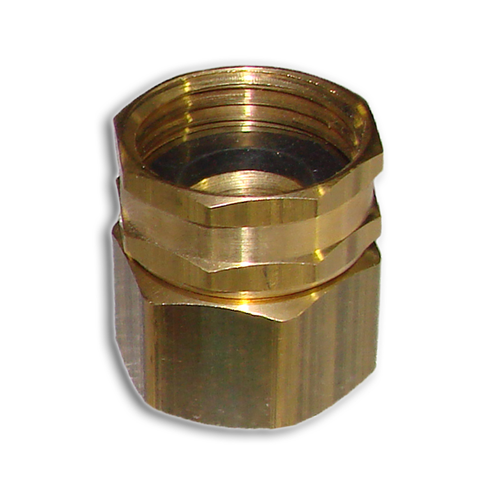 Brass Garden Hose Swivel Adapter Big Sprinkler