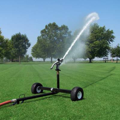 2000s Wheeled Sprinkler Cart Big Sprinkler