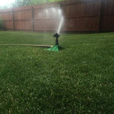 Impulse Sprinkler W 2 Lb Weighted Sled Base Big Sprinkler